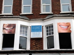 St James Dental Surgery New Entrance, May 2015